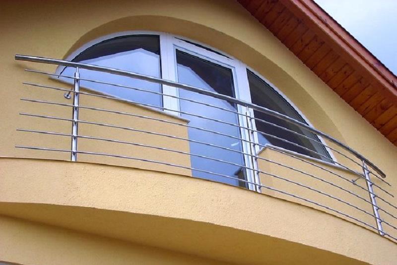 Французский балкон в архитектуре.